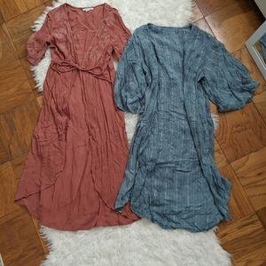 AMERICAN EAGLE kimono bundle